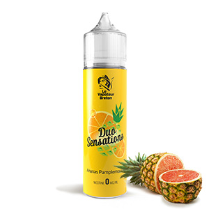 Mix'N'Vap DUO Sensations Ananas-Pamplemousse